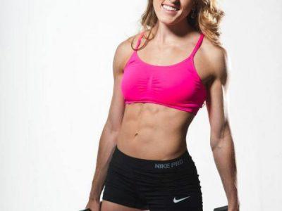 muscular marathon runner