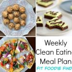 Healthy Weekly Meal Plan featuring FitFoodieFinds