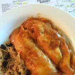 Healthy Crockpot Chicken Enchiladas – Gluten Free and Vegan Options