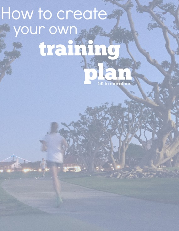how to create my own training program