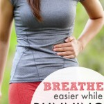 breathe while running