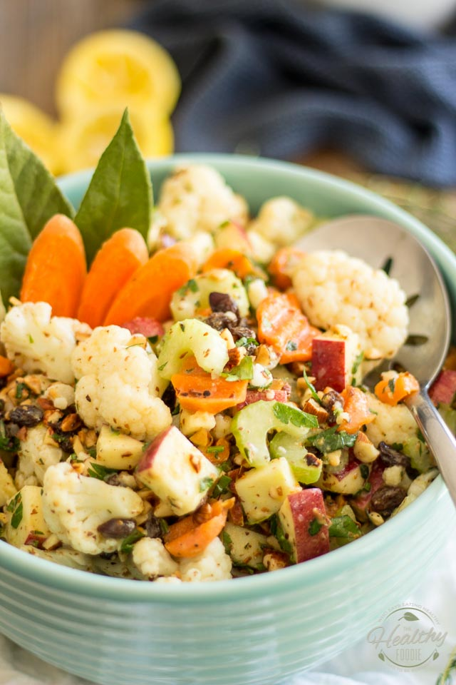 Loaded Cauliflower Salad - The Healthy Foodie - lots of paleo and healthy meal ideas