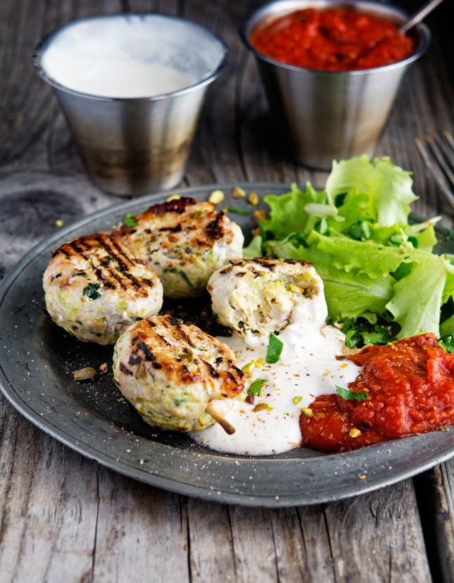 Turkey Koftas -a Healthy Manly Dinner Recipe for Summer