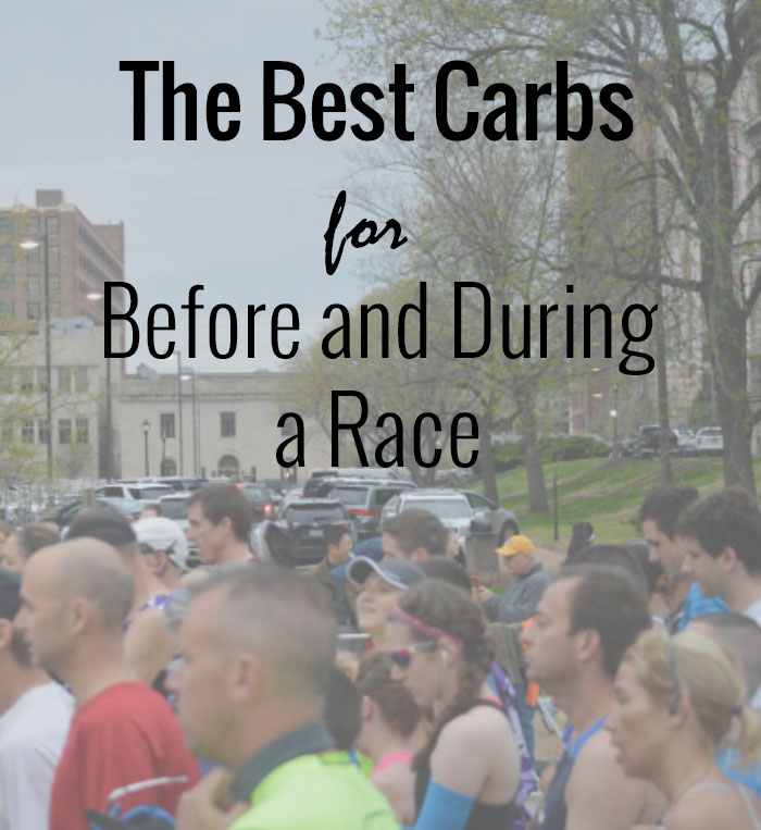 Best Carbs for Before and During a Race to feel your best and avoid stomach issues