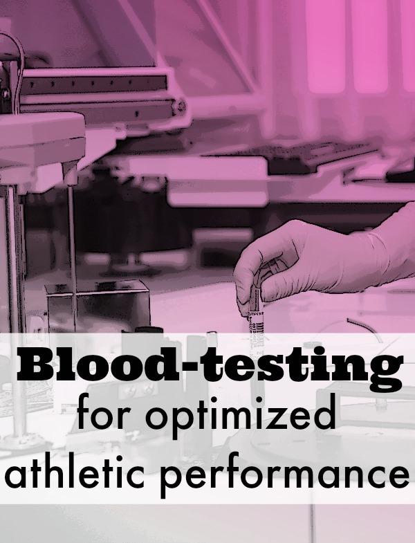 blood testing athletes