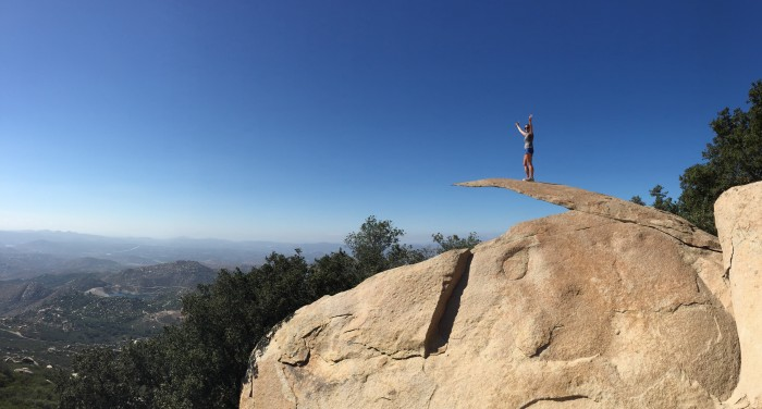 Mount Woodson Trail Peak - Potato Chip Rock