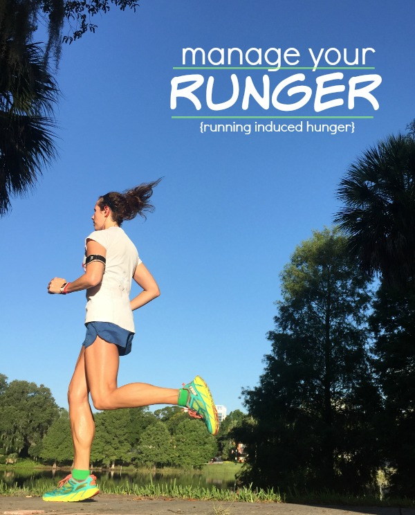Runger is real - FInd out how to manage your hunger during marathon training