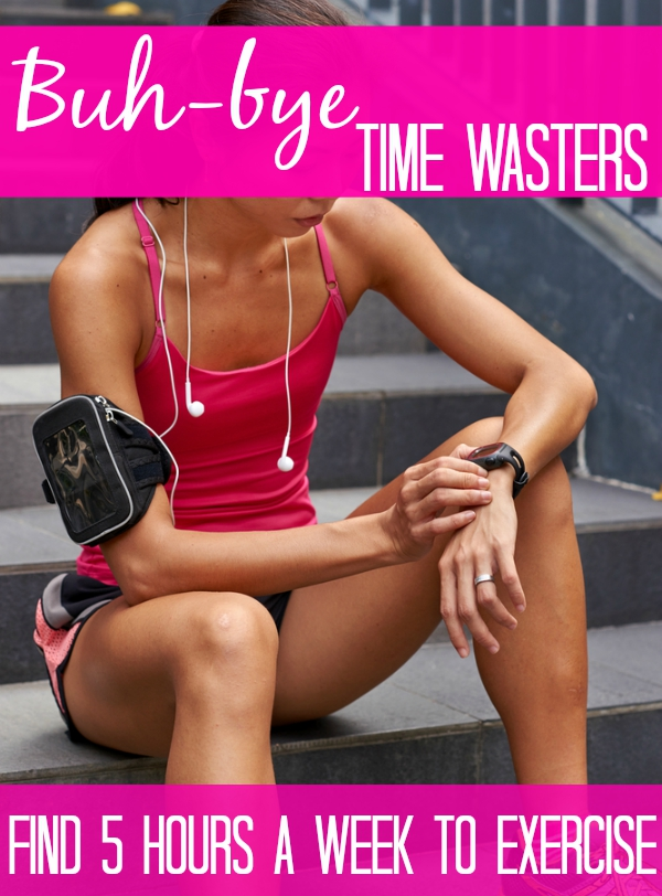 Stop the too busy excuses - here are 8 easy ways to find enough time in yoru week for a run, pre-hab workouts or whatever you need to do!