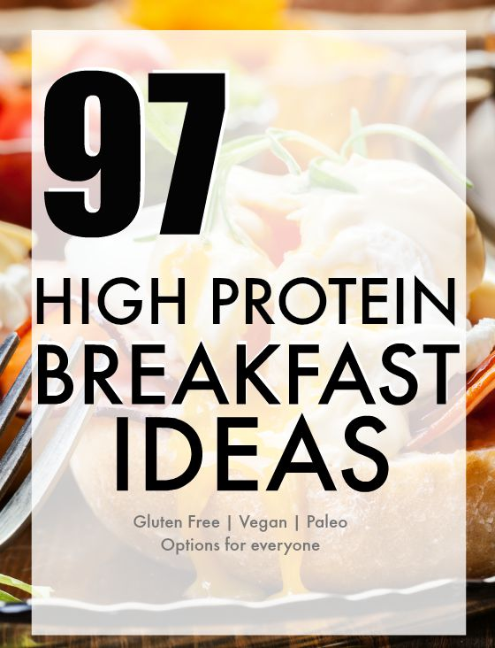 97 High Protein Breakfast Ideas