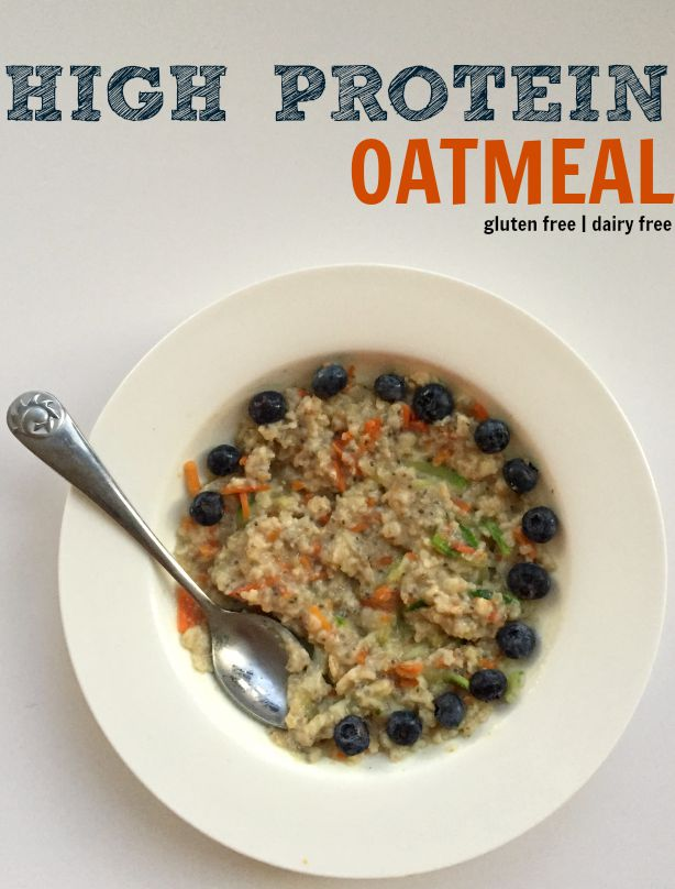 High protein oatmeal and 100 other ideas for high protein breakfast