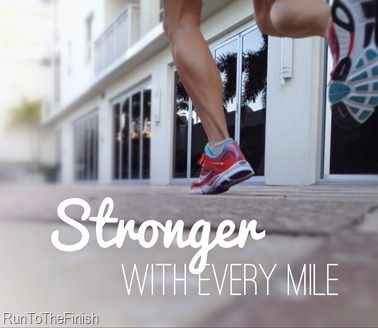 Find a mantra that will help you push through the hard moments - examples from elite runners