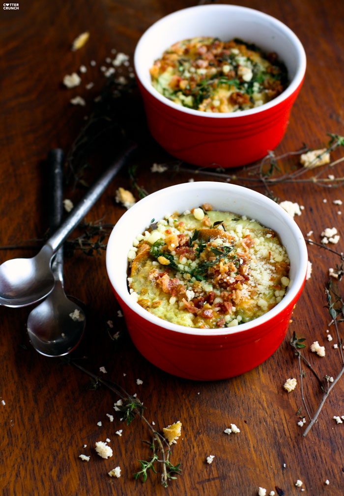 Herbed Chicken Bake from Cotter Crunch - Plus 97 other high protein breakfast ideas