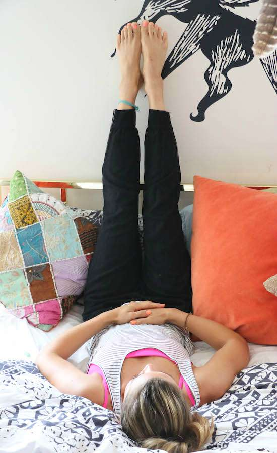 Great poses to help you fall asleep