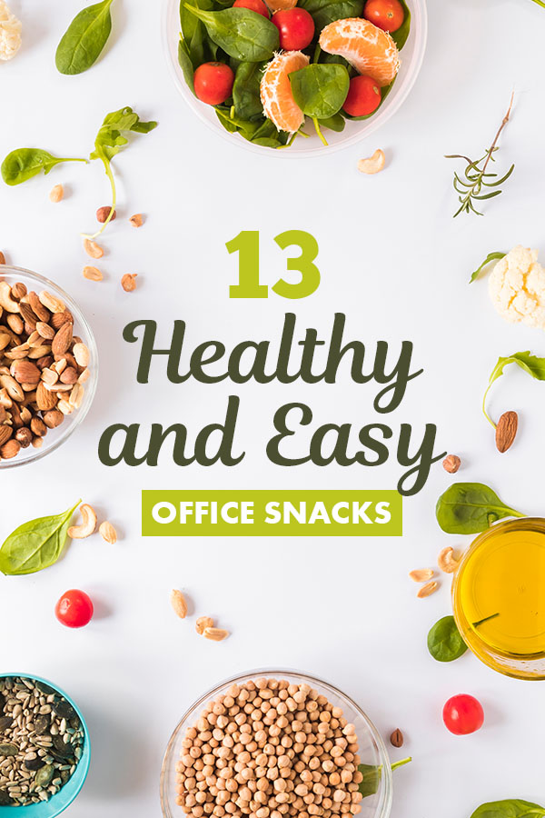 healthy office snacks