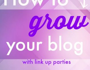 How to Grow Your Blog Traffic using LInk Up Parties - a list of fitness and health link ups