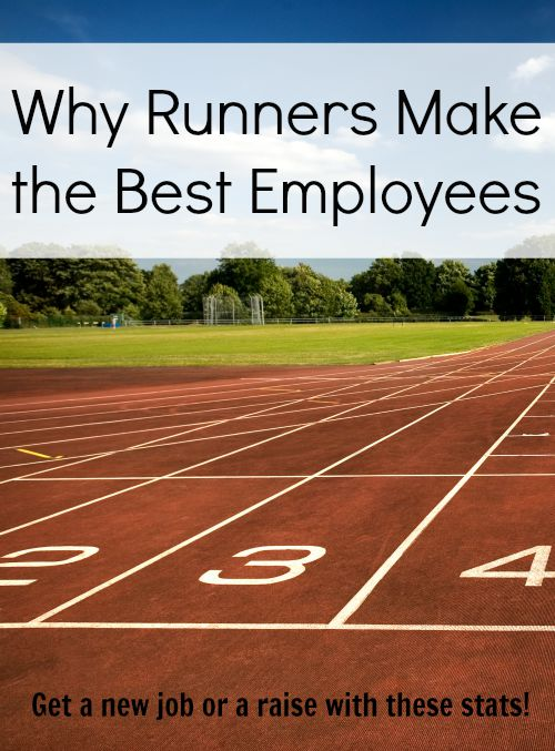 Why runners make the best employees - find out how your running could make you more money