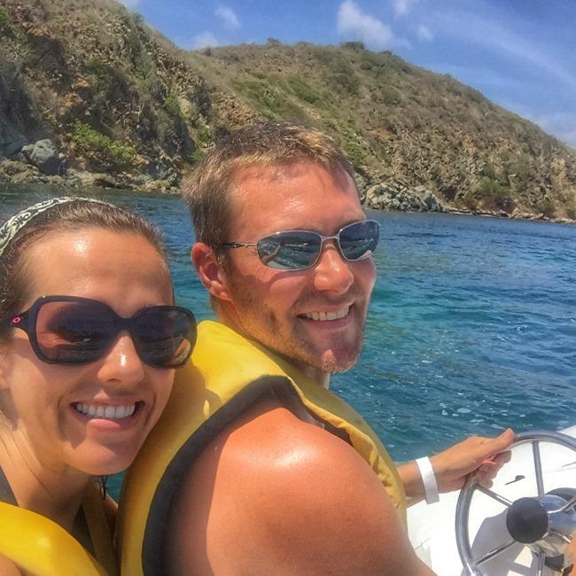 Jet boating tour in Tortola
