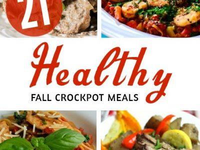 21 Healthy Crockpot meals - time saving healthy recipes to keep you on track