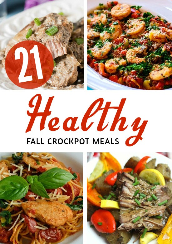 21 Healthy Crockpot meals - time saving healthy recipes to keep you on track