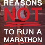 Considering a Marathon? Why You Should Think Again…