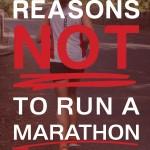 Considering a Marathon? Why You Should Think Again…