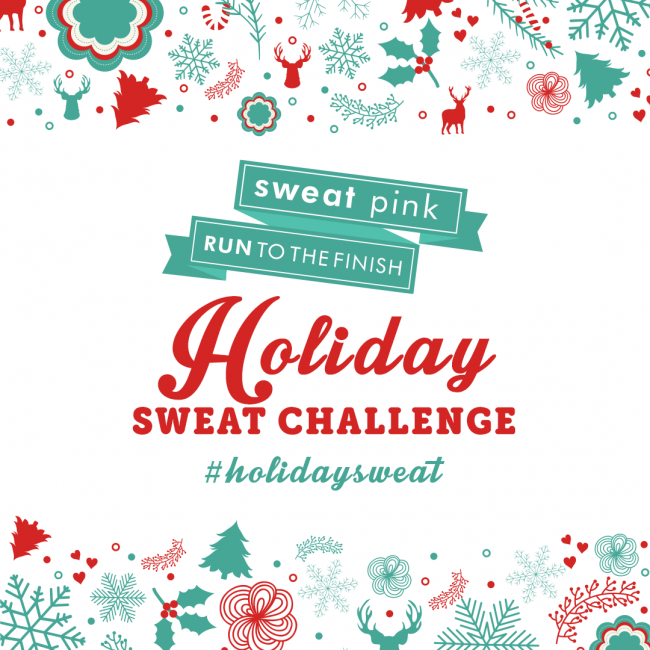 Join the Holiday Sweat Challenge to win prizes, get support and stay on track this holiday season