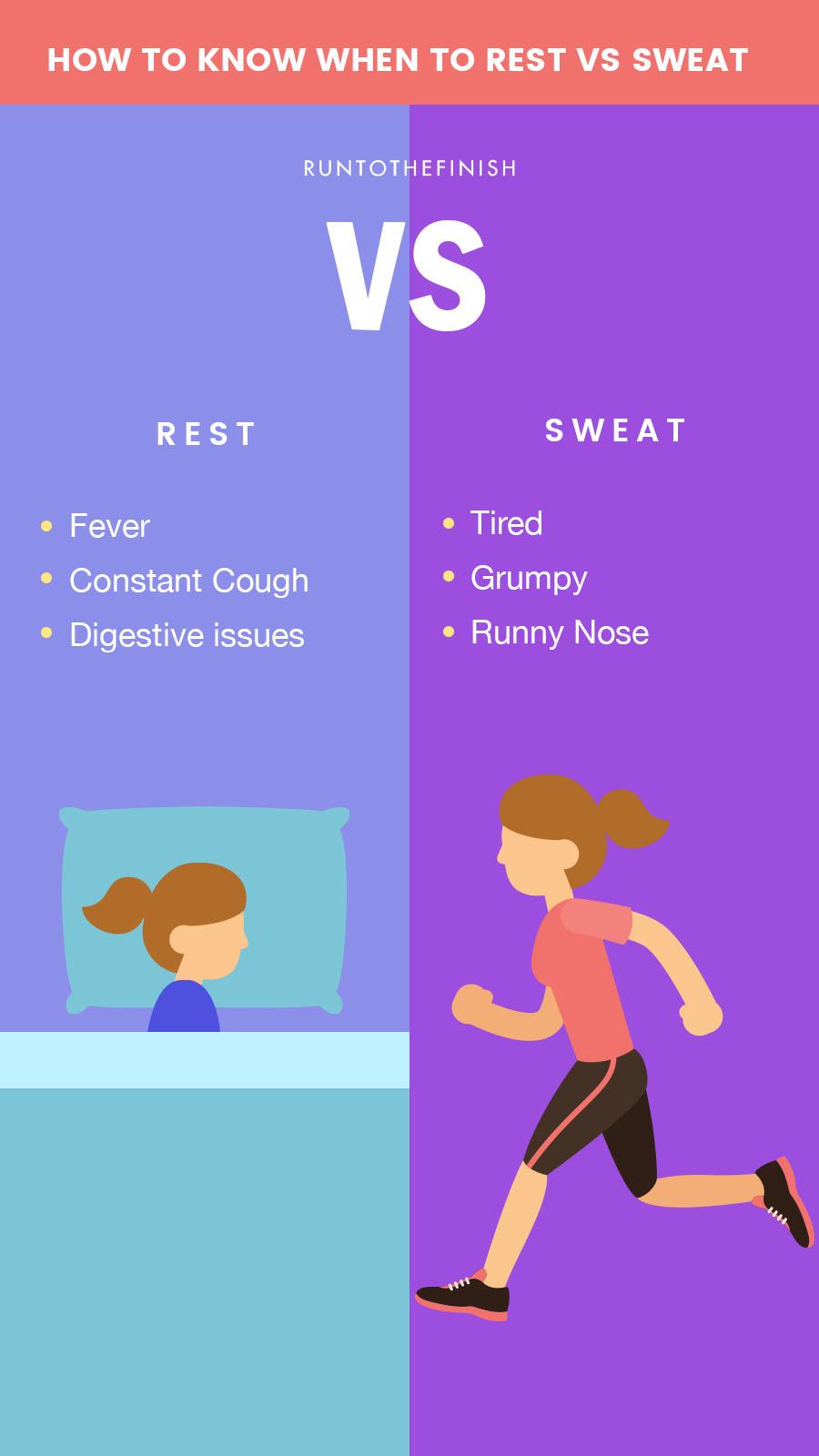 workout when sick