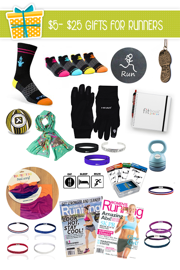Gift Guide for Runners - stocking stuffer idea that are under $25