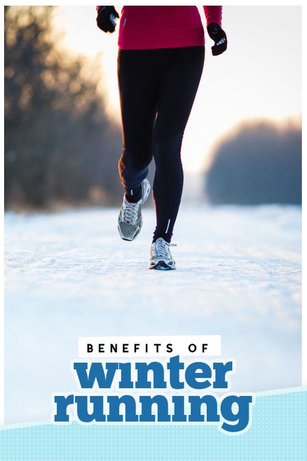 Understand the benefits of winter running to get motivated