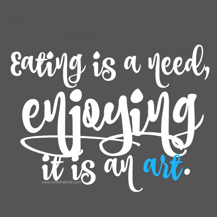 enjoy food