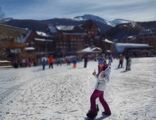 A Runner Goes Snowboarding and Lives to Tell About It