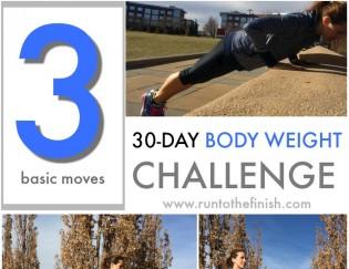 30 Day Body Weight Challenge