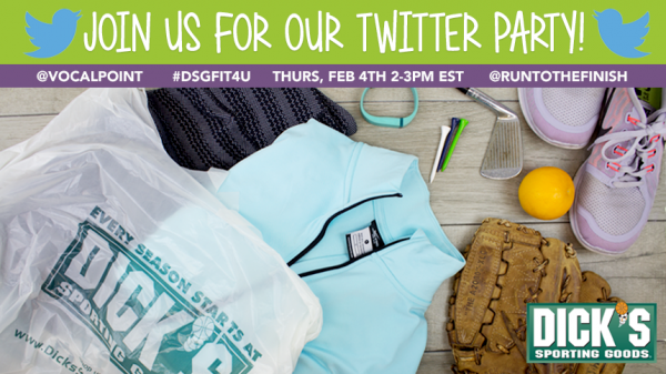 Twitter Party with Dick's Sporting Goods