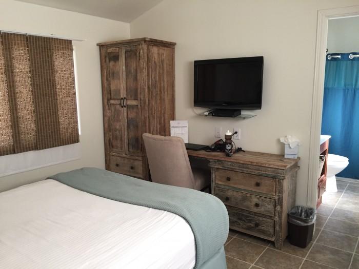 Inside Wellfit Malibu Cabins