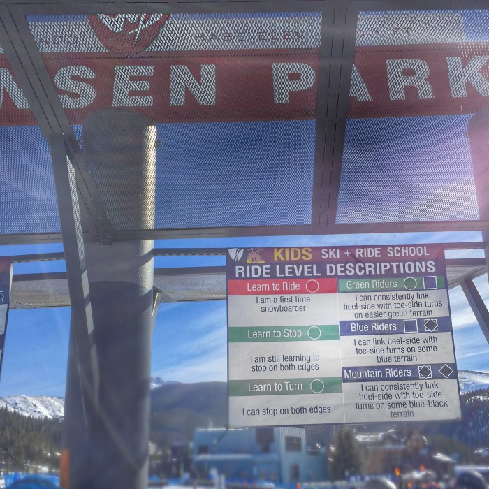 Winter Park Snowboarding Lessons
