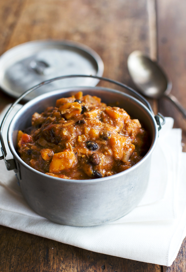 Sweet Potato Chicken Chili from A Pinch of Yum