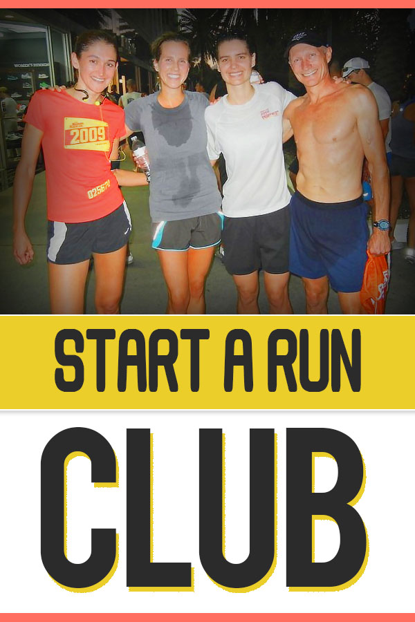 How to start a running group - no matter your speed or location