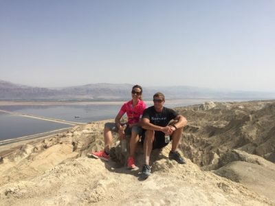 Hiking in the Judean Desert with Dai Manuel