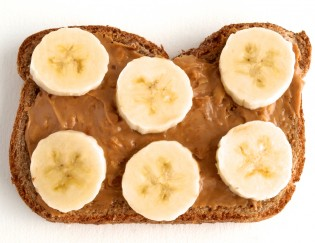 Why so many runners eat bananas and PB before running
