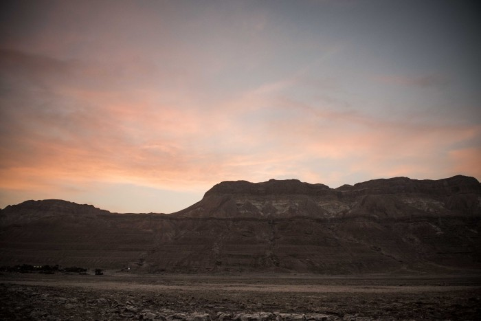 Dead Sea Mountains in Israel