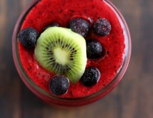 Recovery meals with Berries - Get the recipe for Triple Berry Smoothie and more