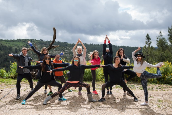 Yoga in Israel with Vibe Israel