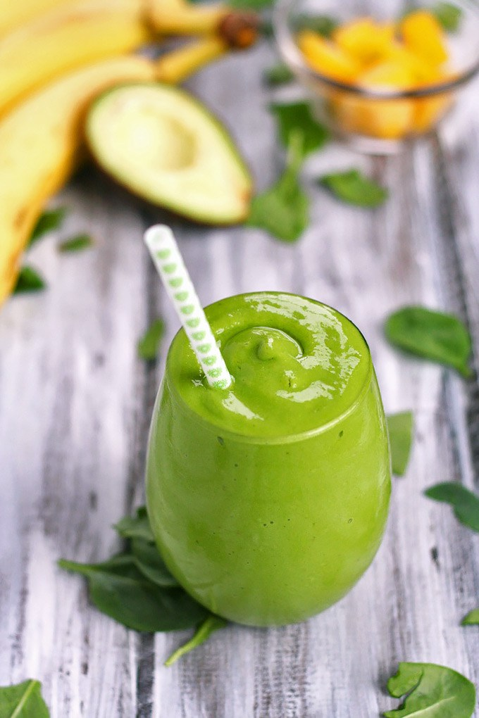 Banana Mango Avocado Smoothie - plus hundreds of other recipes and ideas on what to add in