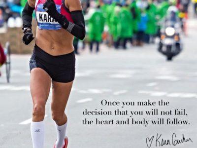 Quotes from elite athletes like Kara Goucher to movitate you through marathon training - click for more