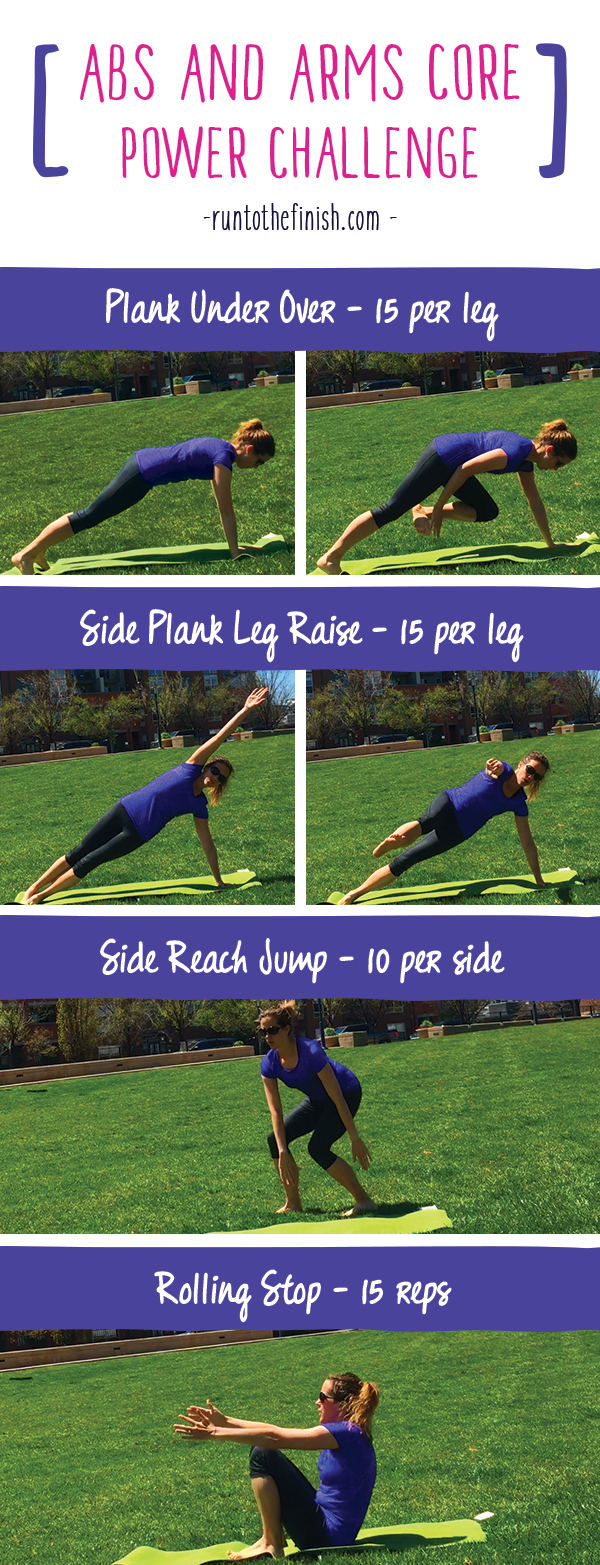 Ab Workout that will strengthen the entire core and work your arms at the same time! Less time in the gym, more results with these body weight moves