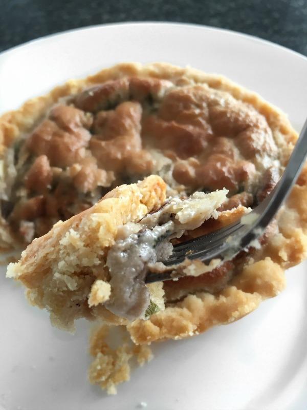 A Vegan Tart everyone will love - Super satisfying Cashew Cream Mushroom Tart Recipe that's healthy, whole food ingredients and gluten free