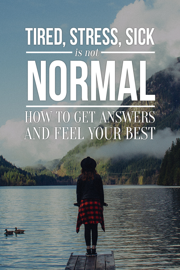 Are you feeling tired, stressed out or less than great all the time? It's not normal, find out how I got answers and you can too. You desrve to feel amazing