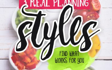 3 Meal Planning Methods: Which One is Right for You?