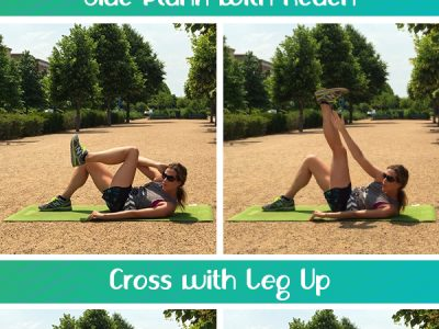 5 Minute Ab Definer - Dynamic moves that work the obliques as part of the 30 Day Ab Challenge