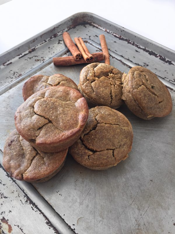 Flourless Banana Muffins Recipe - healthy, clean eating breakfast or snack idea that's gluten free and dairy free